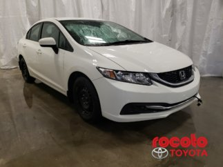 Honda Civic Sedan * LX * GR ÉLECTRIQUES * BLUETOOTH * 2015