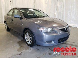 Mazda Mazda3 * DIRECTION ASSISTÉE * MANUELLE * 2008