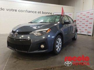 Toyota Corolla * S * GR ÉLECTRIQUES * BLUETOOTH * CAM DE RECUL * 2014
