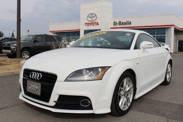 Audi TT S LINE GPS CUIR ROUGE MAGS SIEGES CHAUFFANTS 2012