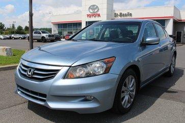 Honda Accord Sedan EX-L CUIR TOIT MAGS SIEGES CHAUFFANTS 2012