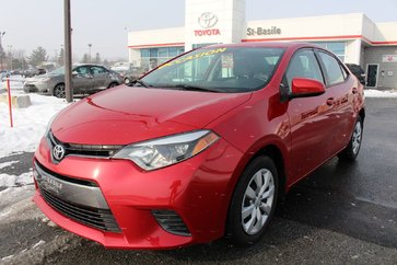 Toyota Corolla LE BLUETOOTH SIEGES CHAUFFANTS CAMERA RECUL PEA 2015