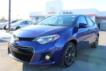 Toyota Corolla S AMELIORE TECHNOLOGIE CUIR TOIT MAGS GPS 2015