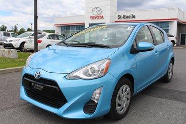 Toyota Prius C AMELIORE BLUETOOTH CAMERA RECUL AIR CLIMATISE 2016
