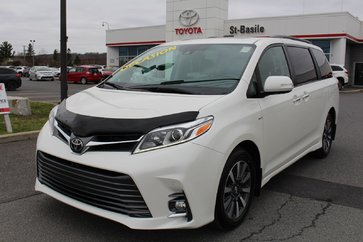 Toyota Sienna XLE LIMITED AWD MAGS TOIT CUIR DVD 2018