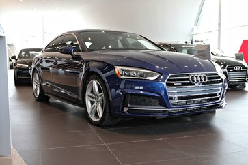 2018 Audi A5 Sportback Progressiv-DÉMO S-LINE-*0.9% Disponible