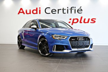 2018 Audi RS 3 Sedan RS3 Bleu ARA-FREINS CÉRAMIQUE-*0.9% disponible