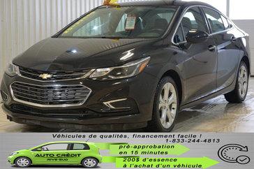 Chevrolet Cruze Premier*CAMÉRA*CUIR CHAUFF*MAGS DE 17PO* 2017