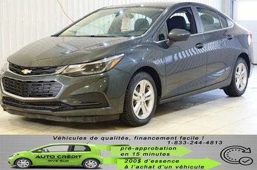 Chevrolet Cruze LT*BLUETOOTH*CAMÉRA*MAGS 16*BANCS CHAUFFANTS* 2017