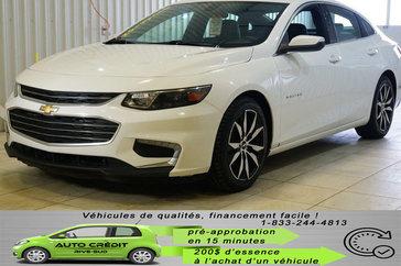 Chevrolet Malibu LT*NAV*CUIR CHAUFF*CAMÉRA*TOIT PANO* 2017