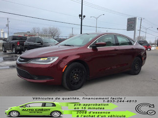 Chrysler 200 LX*A/C*BLUETOOTH*CRUISE* 2015