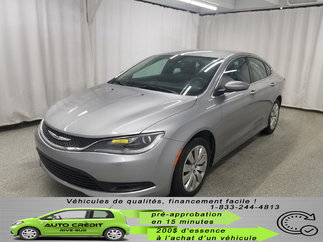Chrysler 200 LX*TISSUS*BLUETOOTH* 2015