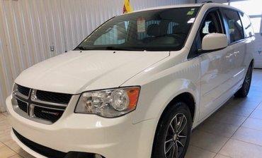 Dodge Grand Caravan SXT Premium*STOW&GO*BLUETOOTH*A/C 3ZONES*CUIR* 2017