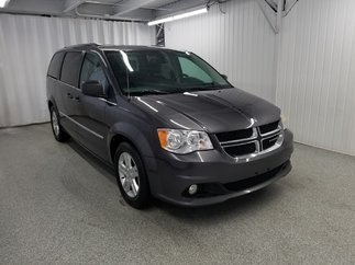 Dodge Grand Caravan Crew Plus*CAMÉRA*NAV*CUIR*DVD* 2017