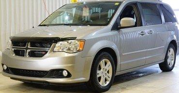 Dodge Grand Caravan Crew Plus*PORTES MOTO*NAV*CAMÉRA*A/C 3 ZONES* 2017