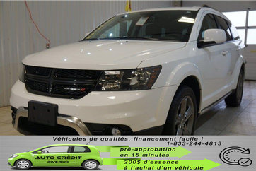 Dodge Journey Crossroad*BLUETOOTH*BANCS/VOLANT CHAUFF*AWD* 2018