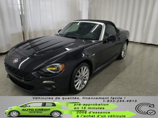 Fiat 124 SPIDER Lusso*NAV*CUIR CHAUFF*ANGLES MORTS DETECT*CAMÉRA* 2017