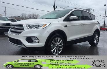 2018 Ford Escape Titanium*AWD*TOIT PANO*CUIR*CAMÉRA*MAGS*NAV*