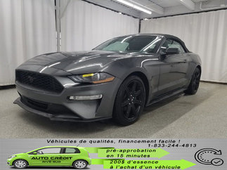 Ford Mustang ECOBOOST PREM*CUIR CHAUFF*GPS*CAMÉRA*MAGS 2018