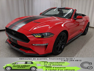 Ford Mustang EcoBoost*CAMÉRA*CUIR CHAUFF*GPS*MAGS* 2018