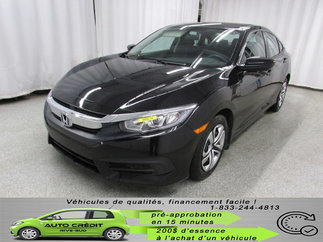 Honda Civic LX*BANCS CHAUFF*CRUISE* 2017