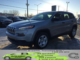 Jeep Cherokee Sport*BANCS/VOLANT CHAUFF*DÉMARREUR*BLUETOOTH* 2015