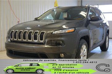 Jeep Cherokee North V6 GR REMORQ.CAMÉRA*AWD*BANCS CHAUFF* 2016