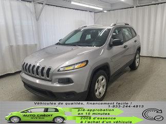 Jeep Cherokee Sport*V6*4X4*CAMÉRA* 2017
