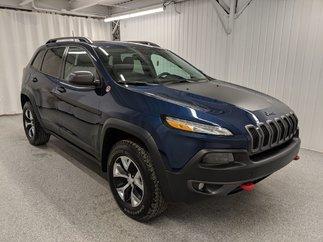 Jeep Cherokee Trailhawk*V6*AWD*CAMÉRA*MAGS*BANCS CHAUFF* 2018