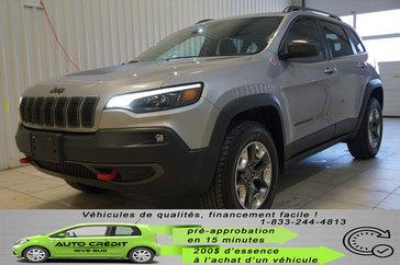 Jeep Cherokee Trailhawk*4x4*CAMÉRA*TOIT PANO*DÉMARREUR* 2019