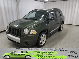 Jeep Compass Limited*CUIR CHAUFFANT*FOGS*MAGS 18 * 2007