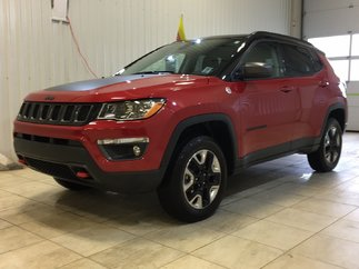 Jeep Compass Trailhawk*CUIR*CAMÉRA*NAV*AWD*TOIT PANO* 2018