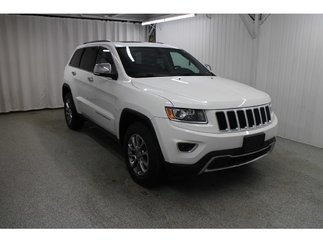 Jeep Grand Cherokee Limited*CAMÉRA*CUIR CHAUFF*TOIT*HAYON ELECT* 2014