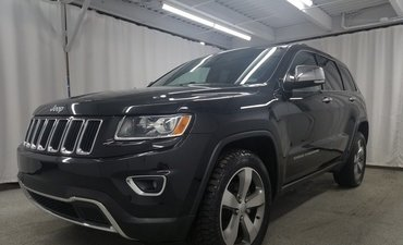 Jeep Grand Cherokee Limited*CAMÉRA*TOIT*MAGS 20*CUIR CHAUFF* 2014