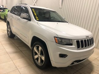 Jeep Grand Cherokee Overland*BANCS CHAUFF/VENT*CUIR*NAV*TOIT PANO* 2014