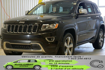 Jeep Grand Cherokee Limited*NAV*CUIR CHAUFF*4X4*MAGS 20*TOIT* 2016