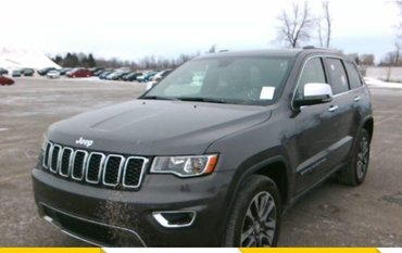 Jeep Grand Cherokee Limited*NAV*CUIR*CAMÉRA*TOIT*MAGS* 2018