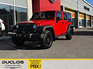 Jeep Wrangler Willys Wheeler V6 AWD HITCH MAGS 2017