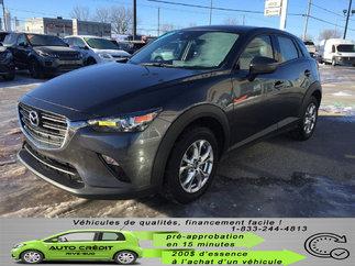 Mazda CX-3 GS*BANCS/VOLANT CHAUFF*CAMÉRA*BLUETOOTH*MAGS*AWD* 2019