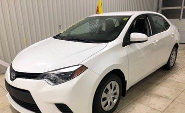 Toyota Corolla CE*CLIMATISATION*LECTEUR CD*VITRES ÉLECT* 2015