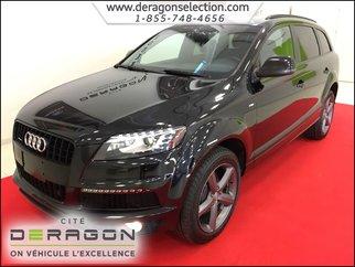 Audi Q7 TDI + PROGRESSIV + S-LINE + NAV + CAM + TOIT PANO 2014