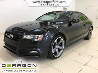 2016 Audi S5 TECHNIK PLUS V6T NAV CAMERA TOIT BANG & OLUFSEN