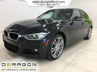 2015 BMW 3 Series 335i xDrive M PACK CUIR ROUGE ROUES 19