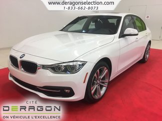BMW 3 Series 330i + xDrive + SPORT PACK + TOIT + NAV + CAMÉRA 2018