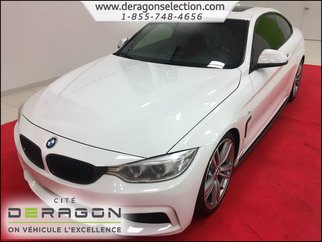 2014 BMW 4 Series 435i + XDRIVE + M PACK + CUIR ROUGE + TOIT
