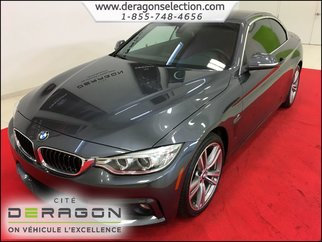 2015 BMW 4 Series 435i xDrive + CONVERTIBLE + M PACK + NAV + CAMERA