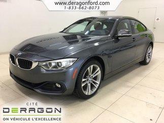BMW 4 Series 428i xDrive GRAN COUPE TOIT NAV CAMERA CUIR ROUGE 2016