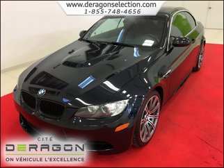 2012 BMW M3 CONVERTIBLE + SMG + NAV + CUIR ROUGE