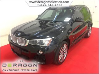 2015 BMW X3 XDrive28i + M PACK + CUIR DAKOTA +  NAV + TOIT