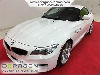 2016 BMW Z4 28I + M PACK + INT ROUGE + NAV + ROUES 19